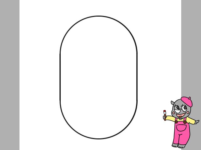 ミニオンズイラストの簡単な描き方と色塗り キャラクターの