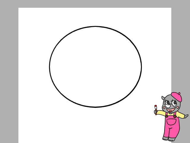アンパンマンイラストの簡単な描き方と身体を描く方法と色塗り かく