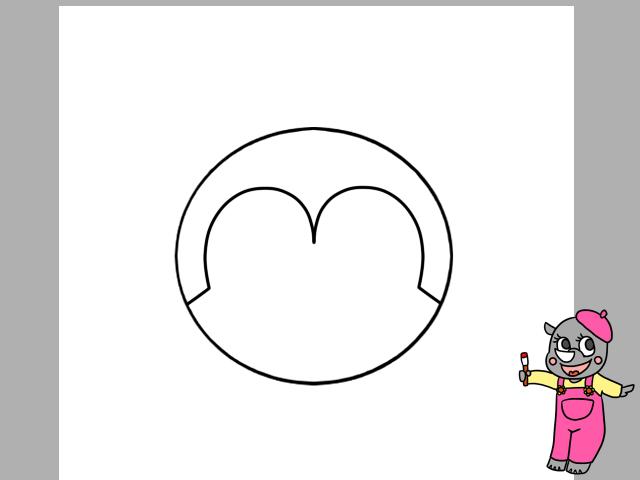 コキンちゃんイラストの簡単な描き方 全身を描く方法と色塗り かくぬる工房