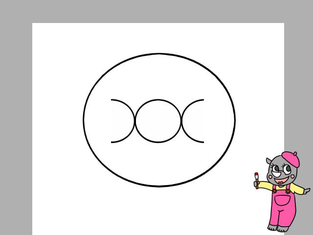 アンパンマンイラストの簡単な描き方と身体を描く方法と色塗り かくぬる工房