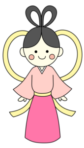 織り姫 フリー素材