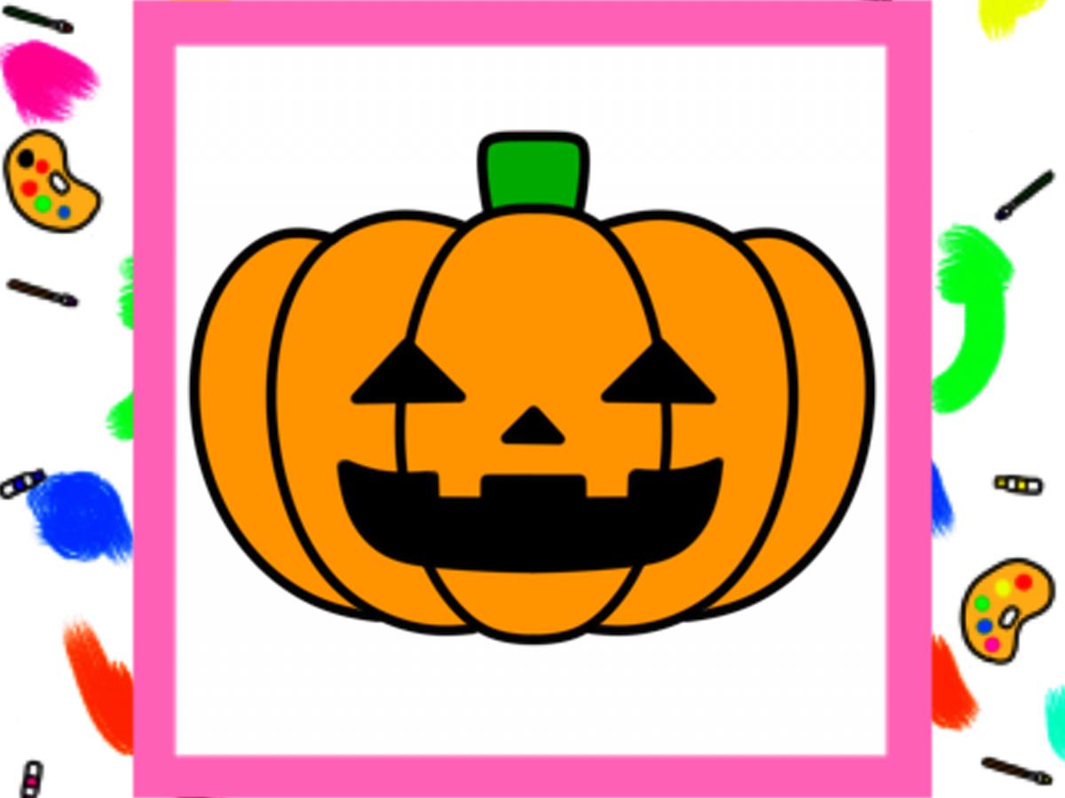 ハロウィンのかぼちゃイラストの簡単な描き方
