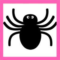 ハロウィン 蜘蛛のイラストの簡単な描き方