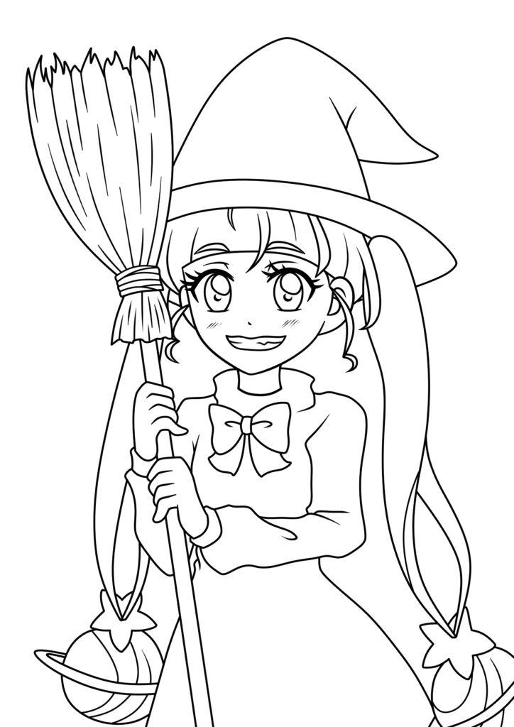 スター☆トゥインクルプリキュア キュアスター 星奈ひかる ぬりえ ハロウィン