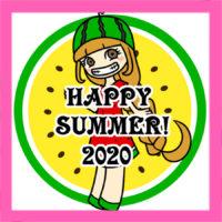 ラインで使える残暑見舞い2020年 無料スタンプ風画像 ダウンロード