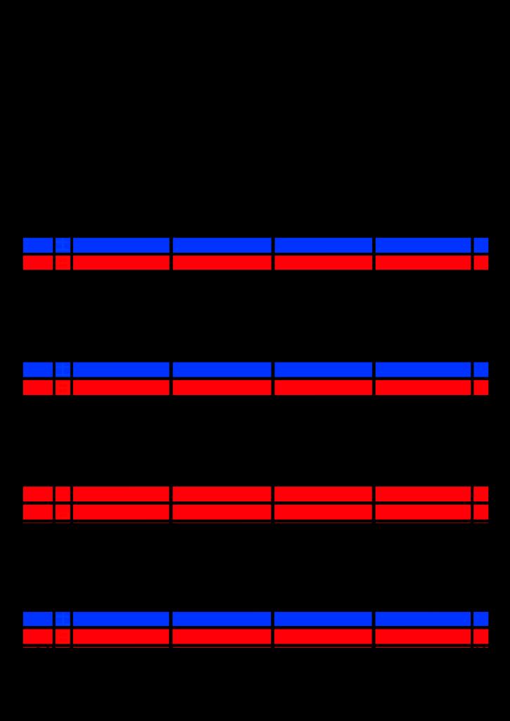 2021年家族カレンダー シンプル 背景透過PNG形式 4人用 3月