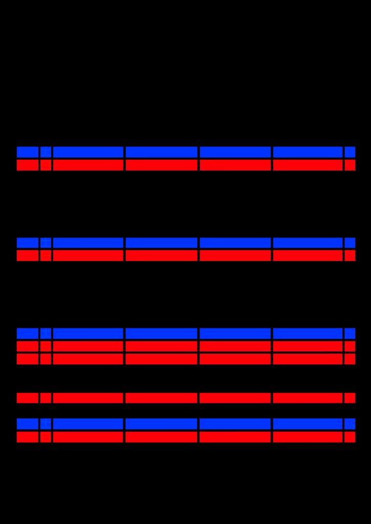 2021年家族カレンダー シンプル 背景透過PNG形式 4人用 9月