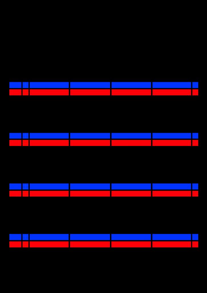 2021年家族カレンダー シンプル 背景透過PNG形式 4人用 12月