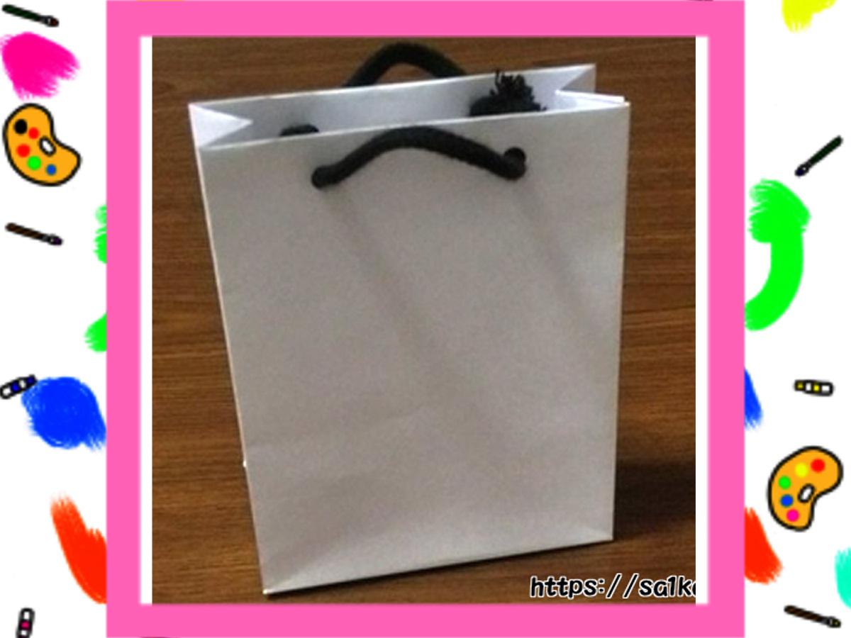 手作りミニ紙バッグの作り方 【印刷用テンプレートあり】