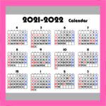 令和3年カレンダー 始まり年間4月 背景透過 無料ダウンロード・印刷